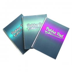 Cheap Stationery Supply of Pukka Electra A4 Jotta Notebook Assorted 8239-ELC Office Statationery