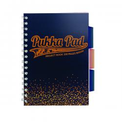 Cheap Stationery Supply of Pukka A4 Jotta Project Book Navy 8248-BLS Office Statationery