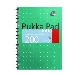 Cheap Stationery Supply of Pukka Pad Metallic Cover Wirebound Jotta Notebook B5 (Pack of 3) 8520-MET Office Statationery