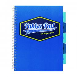 Cheap Stationery Supply of Pukka Pad Vision Wirebound Project Book A4 Blue (Pack of 3) 8610-VIS Office Statationery