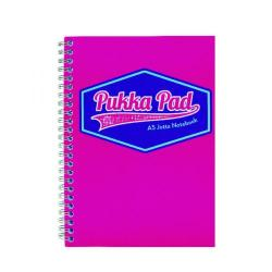 Cheap Stationery Supply of Pukka Pad Vision Wirebound Jotta Pad A5 Pink (Pack of 3) 8615-VIS Office Statationery