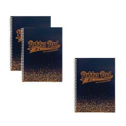 Cheap Stationery Supply of Pukka Jotta A5 Notebook Navy (Pack of 3) 3 for 2 PP816948 Office Statationery