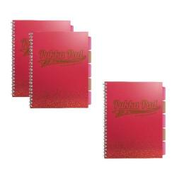 Cheap Stationery Supply of Pukka A4 Jotta Project Book Coral (Pack of 3) 3 for 2 PP816949 Office Statationery