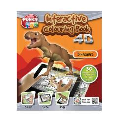 Cheap Stationery Supply of Pukka Fun Interactive Colouring Book 4D Dinosaurs 8421-FUN Office Statationery