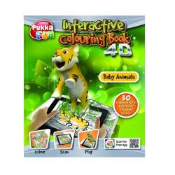 Cheap Stationery Supply of Pukka Fun Interactive Colouring Book 4D Baby Animals 8422-FUN Office Statationery