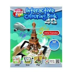Cheap Stationery Supply of Pukka Fun Interactive Colouring Book 4D World Traveller 8423-FUN Office Statationery