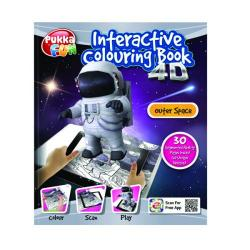 Cheap Stationery Supply of Pukka Fun Interactive Colouring Book 4D Outer Space 8424-FUN Office Statationery