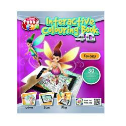 Cheap Stationery Supply of Pukka Fun Interactive Colouring Book 4D Fantasy 8425-FUN Office Statationery