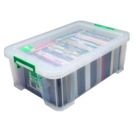StoreStack 15 Litre Storage Box W300xD470xH170mm Clear RB11085