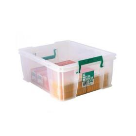 StoreStack 24 Litre Storage Box W480xD380xH190mm Clear RB11087