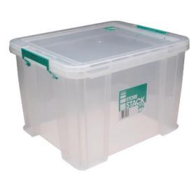 StoreStack 36 Litre Storage Box W480xD380xH320mm Clear RB90124