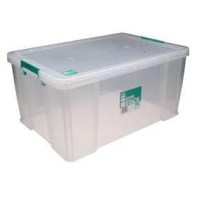 StoreStack 70 Litre Storage Box W660xD450xH320mm Clear RB90126