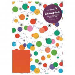 Cheap Stationery Supply of Regent Packaged Wrap Bright Spots (Pack of 12) F332 Office Statationery