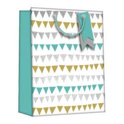 Cheap Stationery Supply of Regent Gift Bags Bunting Medium (Pack of 6) Z728M Office Statationery