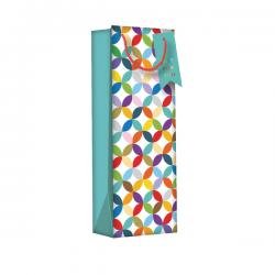 Cheap Stationery Supply of Regent Gift Bags Bright Link Geometric Bottle (Pack of 6) Z730B Office Statationery
