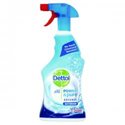 Cheap Stationery Supply of Dettol Power & Pure Advance Bathroom Spray 750ml RB788783 Office Statationery