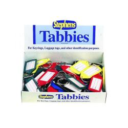 Cheap Stationery Supply of Stephens Assorted Tabbies Keyrings Display (Pack of 50) RS521211 Office Statationery