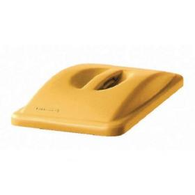 Rubbermaid Slim Jim Handle Top Lid Yellow 2688-88-YEL
