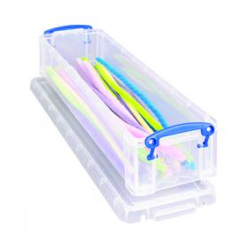Really Useful Clear 1.5 Litre Pencil/Stationery Box 1.5C