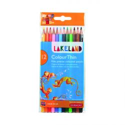 Cheap Stationery Supply of Derwent Lakeland Colouring Pencil Assorted (Pack of 12) 700077 Office Statationery
