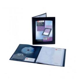 Rexel Clearview Display Book 12 Pocket A4 Black 10300BK