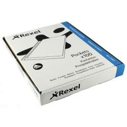 Cheap Stationery Supply of Rexel Superfine Pocket Top Opening A4 Clear (Pack of 100) RSPA4 11040 Office Statationery