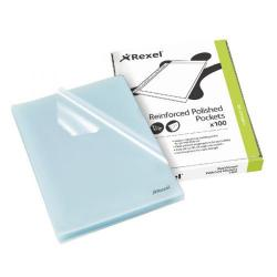 Cheap Stationery Supply of Rexel Cut Flush Folder Polypropylene A4 Clear (Pack of 100) 12215 Office Statationery