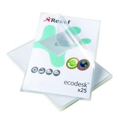 Cheap Stationery Supply of Rexel EcoDesk L Folders Top and Side Opening A4 (Pack of 25) 2102243 Office Statationery
