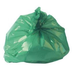 Cheap Stationery Supply of 2Work Medium Duty Refuse Sack Green (Pack of 200) RY15561 Office Statationery