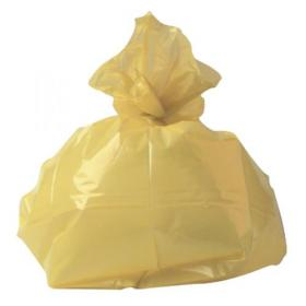 2Work Medium Duty Refuse Sack Yellow (Pack of 200) RY15581