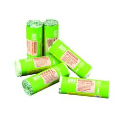 Cheap Stationery Supply of Waste Not Compostable Caddy Liner Bag 20 per Roll (Pack of 6)  10629 Office Statationery