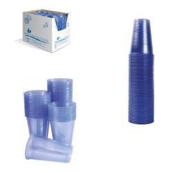 Cheap Stationery Supply of MyCafe Plastic Cups 7oz Blue (Pack of 1000) DVPPBLCU01000V Office Statationery