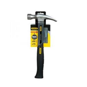 Stanley Fibreglass Claw Hammer 16oz Grey STHT0-51309