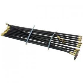 Drain Cleaning Kit 12 Piece (9 Metres long when fully assembled) 313790