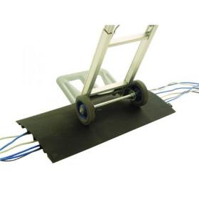 Cable Protector Compact 770X435X40mm Black (has 5 cable channels 30mm wide) 309484