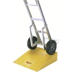 Cheap Stationery Supply of Plastic Kerb Ramp Yellow (597 x 546 x 152mm, 270kg Capacity) 380025 Office Statationery