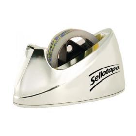 Sellotape Chrome Dispenser Large 575450