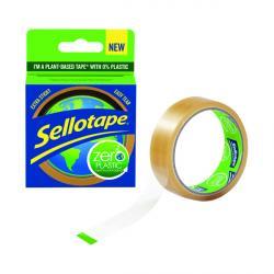 Cheap Stationery Supply of Sellotape Zero Plastic 24mm x 30m 2635499 Office Statationery