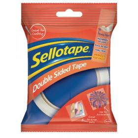 Sellotape Double Sided Tape 12mmx33m (Pack of 12) 1447057