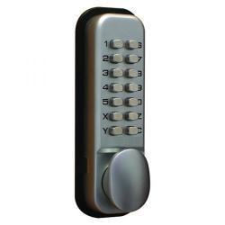 Cheap Stationery Supply of Lockit Mechanical Push Button Digital Lock Chrome DXLOCKITHB/C Office Statationery