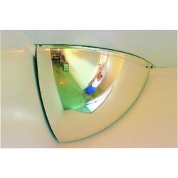 Cheap Stationery Supply of Securikey Convex Quarter Face Dome Mirror 300 x 300mm M18541H Office Statationery