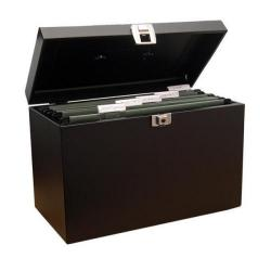 Cheap Stationery Supply of Cathedral Metal File Box Home Office A4 Black A4BK Office Statationery