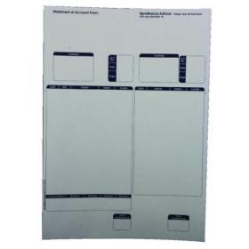 Custom Forms Sage A4 1-Part Laser Sales Ledgers 90gsm (Pack of 500) SE85S