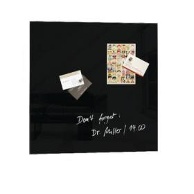Sigel Artverum Black 480x480mm Magnetic Glass Board GL110