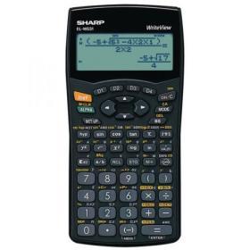 Sharp ELW531B Scientific Calculator (4-Line Display with 335 Functions)