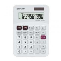 Cheap Stationery Supply of Sharp 10 Digit Desktop Calculator Solar/Battery-Power 1 Key Memory EL331FB Office Statationery