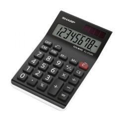 Cheap Stationery Supply of Sharp EL310AN Semi-Desktop 8-Digit Calculator Black Office Statationery
