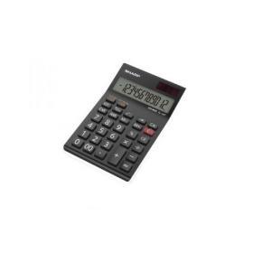 Sharp Black EL-124AT Desktop Calculator (Four key memory stores numbers) EL124ATWH