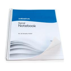 Cheap Stationery Supply of Initiative Spiral Notebook Ruled A4 100 Pages 60gsm Office Statationery