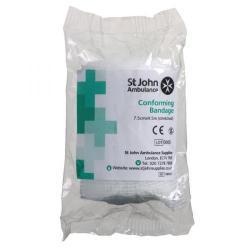 Cheap Stationery Supply of St John Ambulance ConForming Bandage 75mmx4.5m F90121 Office Statationery
